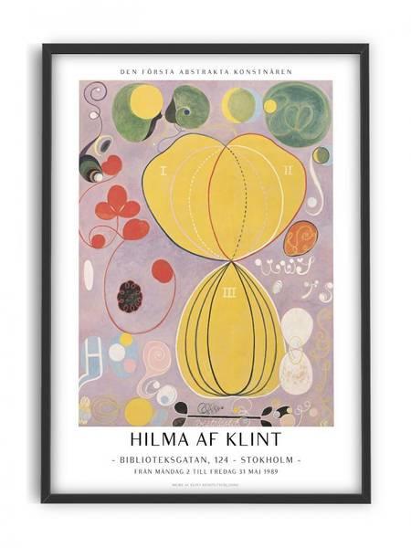 Bilde av PLAKAT - Hilma af Klint - Abstrakta Konstutställning -