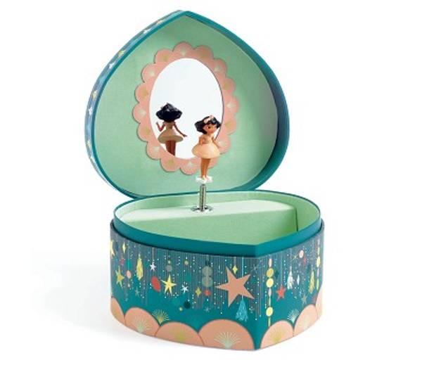 Bilde av SMYKKESKRIN - Hjerte - Ballerina - Djeco
