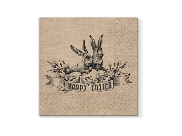 Bilde av SERVIETTER - Vintage Easter