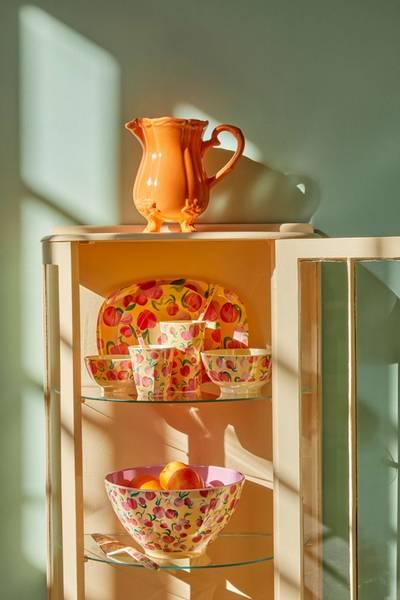 Bilde av LITEN BOLLE - Peach Print - Rice