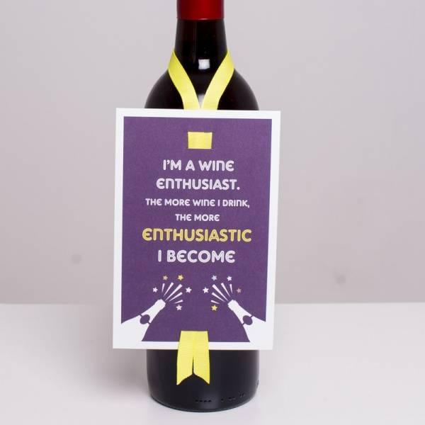 Bilde av VINKORT - I´m A Wine Enthusiast..