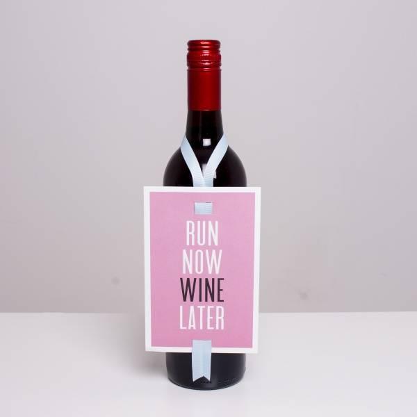 Bilde av VINKORT - Run now wine later