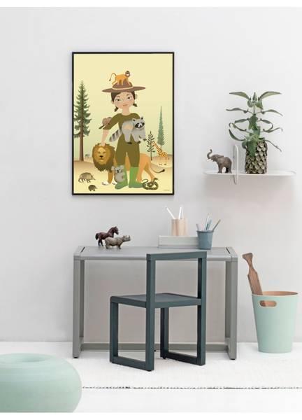 Bilde av PLAKAT - The Zookeeper - Vissevasse