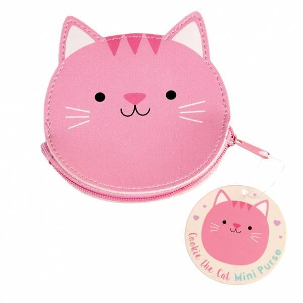Bilde av PENGEPUNG - Rosa - Cookie the Cat