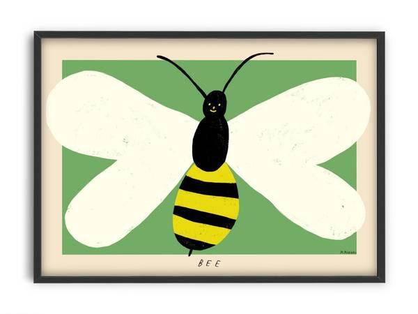 Bilde av PLAKAT - Madelen - Bee - 30x40