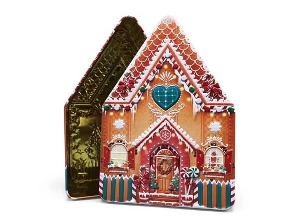 Bilde av KAKEBOKS - Hus - Gingerbread