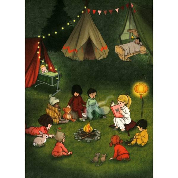 Bilde av KORT - Campfire - Belle & Bo